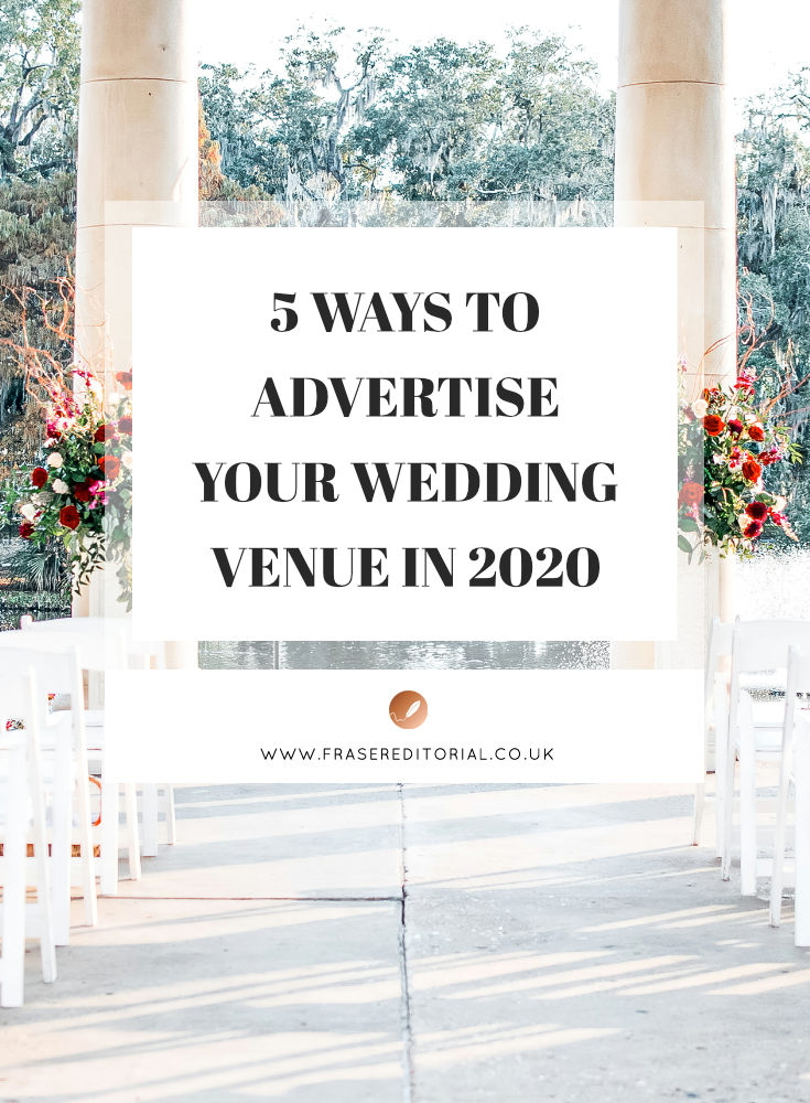 Make the wedding season a success with sparkling wedding venue advertising that brings a return on your time and investment. Start with these 5 strategies.