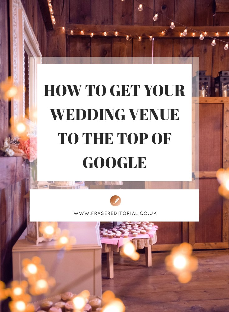 Streamline your wedding venue marketing to five high-reward tasks to place your venue in the spotlight, get to the top of Google and increase bookings.