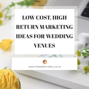 Discover the low cost, high impact marketing ideas for wedding venues to climb Google, supercharge enquiries and book more weddings.